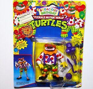 VTG Playmates Toys Teenage Mutant Ninja Turtles BODACIOUS BIRTHDAY Figure & Box