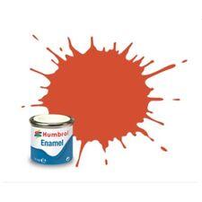 HUMBROL Esmalte 132 Rojo Satinado - Red Satin 14ml
