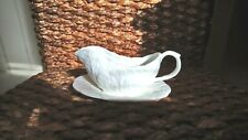 Wedgwood/ Coalport Countryware Small Mint Sauce Jug and Stand / Saucer