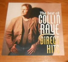 The Best of Collin Raye Direct Hits Poster 2-Sided Flat Square 1997 Promo 12x12