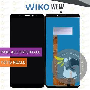 DISPLAY WIKO VIEW XL LCD + TOUCH SCREEN SCHERMO VETRO ASSEMBLATO
