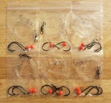 6 Fishing Rigs: Striped Bass, Grouper, Snapper, Red & Black Drum, Corvina, Etc