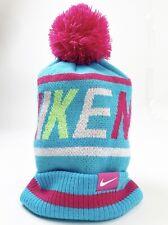 Nike Pom Beanie Youth Blue Pink