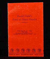 1983 Roald Dahl's Book of Ghost Stories Uncorrected Proof Copy