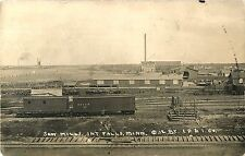 A View of the Saw Mills, International Falls MN RPPC