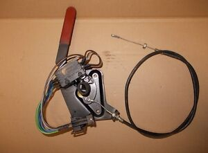 Saab 900 II Cabriolet Lever, Removal For Hood With Wire Rope 4557997