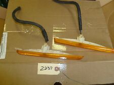 Z237 1999 GM CHEVROLET CHEVY MALIBU LS PARTS 99 MARKER LIGHTS FRONT BUMBER LIGHT