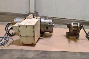 Nikken CNC-200 LF 4th Axis Rotary Table - LMC #47800