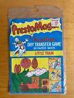 "Vintage Presto Magix Little Train Dry Transfer Game Paper Mate 5"" X 7"" 1978 NOS"