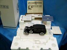New ListingFranklin Mint Al Capone's 1930 Armored Cadillac V16 Sedan 1:24 Scale Diecast Car