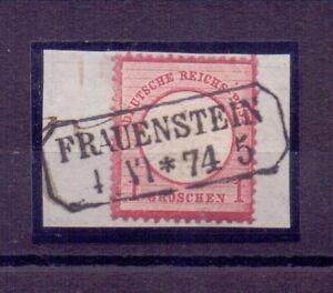 Deutsches Reich 1872 - MiNr 19 V Plattenfehler geprüft Foto-Befund Brugger (312)