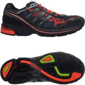 Adidas Adizero Boston 2 Graph Herren-Laufschuhe schwarz/rot Runningschuhe NEU