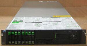 Fujitsu Primergy RX300 S6 2 Xeon Quad Core E5620 2.4GHz 32GB 8x 600GB SAS Server