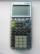 Texas Instruments Argent Ti83 Plus Calculatrice