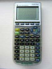 Texas instruments Silver Ti83 plus calculator