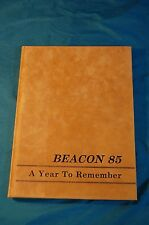 1985 Tennessee Preparatory School TPS Beacon Annual Yearbook