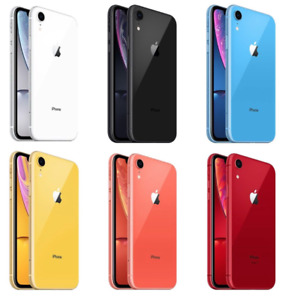 Apple iPhone XR UNLOCKED Smartphone - 64GB 128GB 256GB - EXCELLENT Condition
