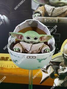 Hot Toys TMS015 Mandalorian 1/6 figure's baby Yoda Grogu hover pram diorama only