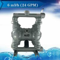 Air-Operated Double Diaphragm Pump QBK-25L for Industrial Waste 24GPM