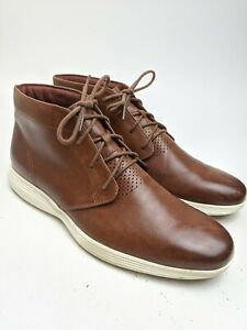 Cole Haan 3.Zerogrand Brown Leather Chukka Boots Sz 11.5 M