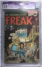 Fabulous Furry Freak Brothers #1 Rip Off Press 1971 1st Printing CGC 3.0