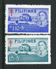 Philippines B50-B51,MNH.Michel Zw 39B-40B. T.B.Cross.Dr.Valdes.Veterans Hospital