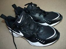 Nike Air Heights Air UK 9 AT4522003 Mens Trainers Black White Cushioned Sneakers