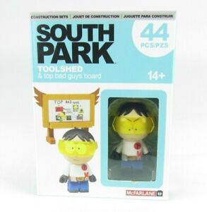 South Park Toolshed & Top Bad Guys Board Set McFarlane Toys NEW