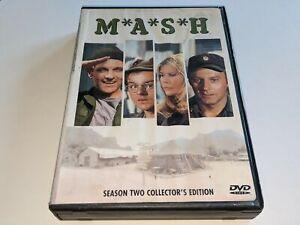 MASH Season Two Collector's Edition 3-Disc DVD Set TV Show M*A*S*H Alan Alda