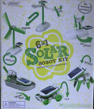 6 in 1 Solar Robot Kit Build Your On Solar-Powered Models Eco - Educational