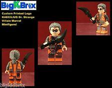 KAECILIUS Dr Strange Villain Marvel Custom Printed LEGO Minifigure NO DECALS