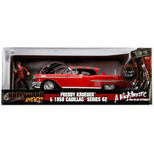 Jada 1958 Cadillac Series 62 A Nightmare On Elm Street Freddy Kruger 1:24 31102