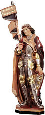 """Statua San Quirino- St Quirino- Hl. Quirinus Legno - Wood-Carved cm. 60 (23,62"""")"""