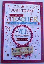 THANK YOU TEACHER - CARD (241)