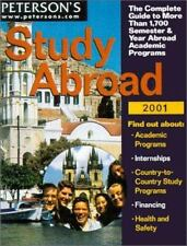 Peterson's Study Abroad 2001 Overseas Prog Guide (2000)