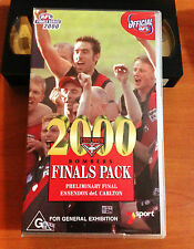 ESSENDON 2000 QUALIFYING FINAL - ESSENDON vs Nth MELBOURNE - VHS