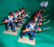 onfoot Argentina Attacking GRENADIERS set SouthAmerica War DSG Soldiers Britains