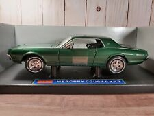 Sun Star 1967 Mercury Cougar XR7 1:18 Scale Diecast '67 Model Car Green