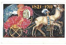 Germany: Bayern; Postal Stationery 2, illustrated 1911, XF with cancella EBA060