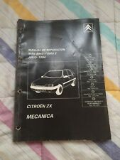 Manual De Taller Original CITROEN Zx