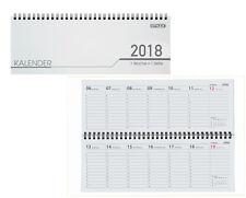 Schreibtisch Kalender / 32 Blatt / Schreibtischquerkalender 2018