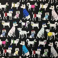 Fat Quarter Sunbonnet Sue Linen Look Cotton Quilting Fabric-50 x 55cm-Pink