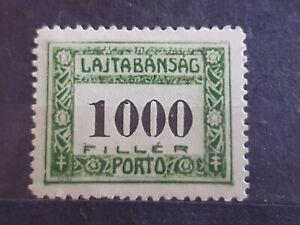 Hungary 1921 Postage Due 1000f MNH V108