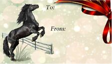 Horse Self Adhesive Gift Labels designed by Starprint