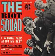 "RIOT SQUAD ""I WANNA TALK ABOUT MY BABY"" ORIG FR EP 1965 M- FREAKBEAT"