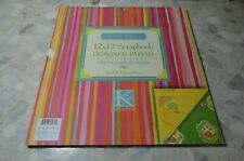 K& Company 12 x 12 Paper Pad Kimberly Hodges 36 Sheets 2 sided New Rare