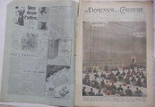 LA DOMENICA DEL CORRIERE 18 24 dicembre 1938 Mostra Autarchica Tigre a Bruxelles