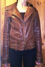 womens dolce and gabbana leather jacket