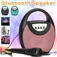 Wireless Portable Speaker FM Radio bluetooth Subwoofer Bass Stereo USB Speaker