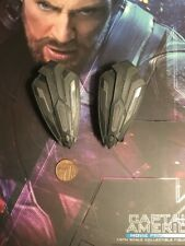 Hot Toys Captain America IW MMS481 Movie Promo Wakanda Shields loose 1/6th scale